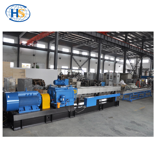 2018 NEW TSE-75 Twin Screw Extruder Water Strand Pelletizing System
