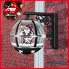 (LW30033C-HS11) New Classic Christmas Snowing Wall Lamp with LED Lights