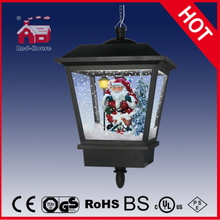 (LH27045C-H) Classic Thanksgiving Holiday Gifts Santa Claus Hanging LED Lamp