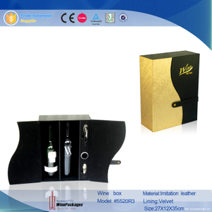 yellow gold new creative products wine gift set with wine accesories