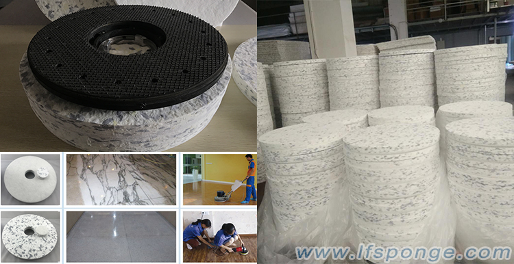 El pedido de almohadillas de aguja para máquina limpiadora de pisos se envía hoy - Life Nano-Plastic Product (Zhangzhou) Co., Ltd