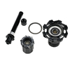 Straight Pull Road Hubs RT - 025F / RCB CNC Brake Aluminum Alloy Anodized Road Bike 24 Hole NBK Bearings Road Hubs Bicycle Hub