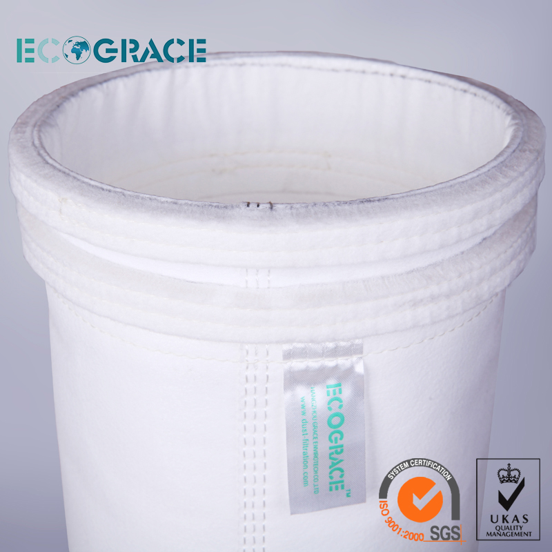 Cement / Lime / Gypsum Powder Cement Plant Dust Filter Bag