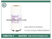 Compatible DRC415 A4 Master for Duplo Duplicator DPM310 DPM410