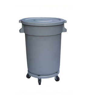 Four Wheels with Plastic for Garbage Bin (KL-021)