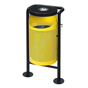 Punching Waste Bin for Outdoor use HW-51