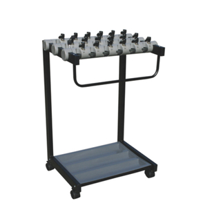Umbrella Rack with 18 Sets Lock for Lobby (CJ-23)