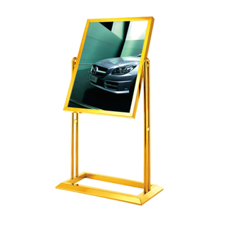 Stainless Steel Sign Stand for Public Place (ZP-17)