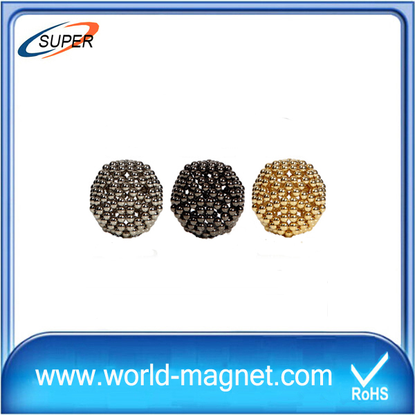 Permanent colorful ball N48 Neodymium Magnet