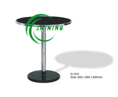 Glass Coffee Table for Hotel and Office (D-204)