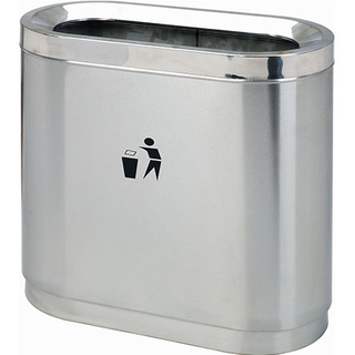 Outdoor Waste Can with Stainless Steel for Hot Spring YH-169