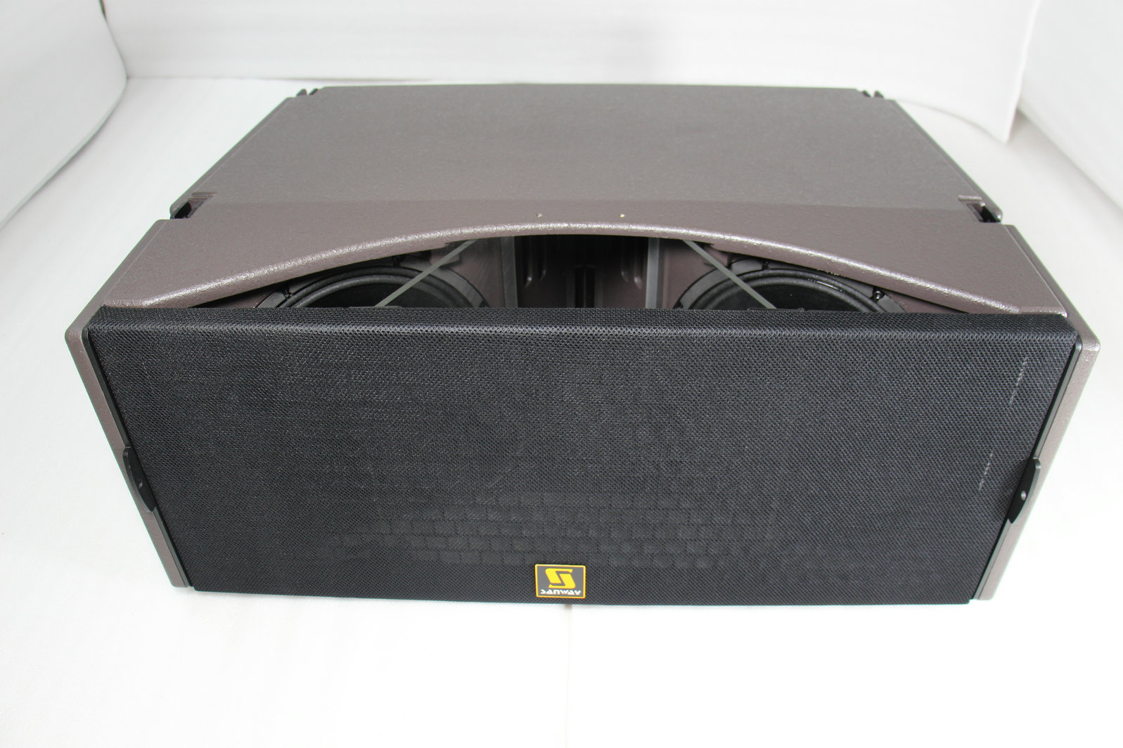KUDO Tri Way Dual 12 pouces Pro Audio Line Array Speaker Box