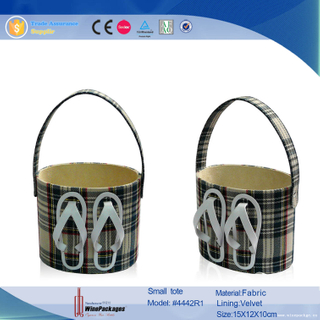 Decorative Gift Fabric Storage Basket Wholesale Supply