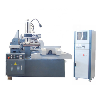 High Cutting Speed Cnc Wire Cut Edm Machine DK7740