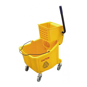 Plastic Single Mop Wringer Trolley (YG-36)