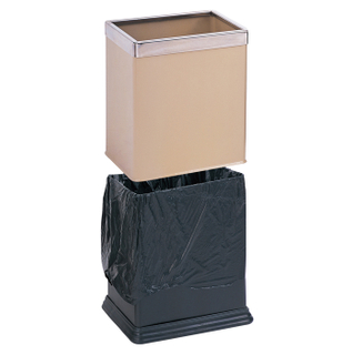 Blacking painting waste bin for home KL-07B