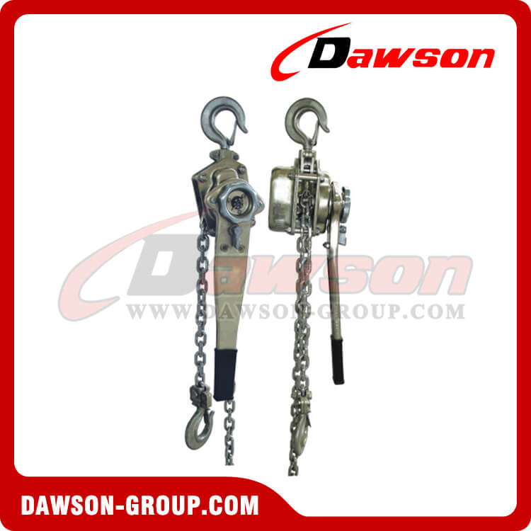 HSSH type stainless steel lever hoist