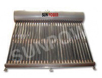 Integrated Lower Pressure Series Solar Water Heater (C E&SOLAR KEY MA RK CERTIFICATE)