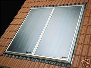 High Temperature Solar Panel Water Heater