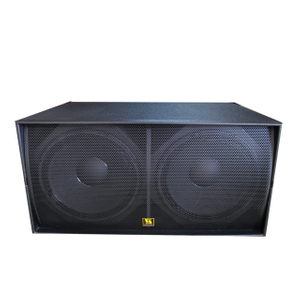 "WS218X Professional Outdoor Dual 18 ""Kotak Speaker Subwoofer"