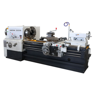 Q1319 200mm Big Spindle Bore Pipe Threading Lathe Machine with CE Protection