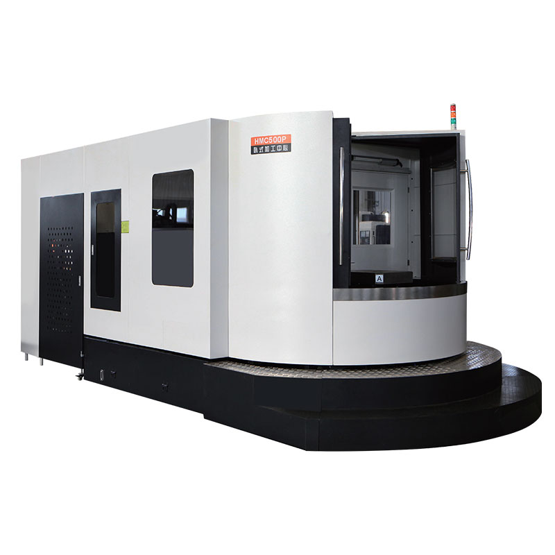 HMC500P CNC Horizontal Machine Center to Process Stainless Steel Workpiece