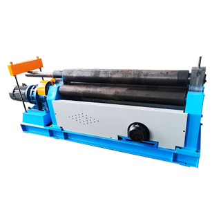 W11-8X1500 3 Rollers Plate Rolling Machine with Mechanical Power