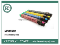 Hot Sales Ricoh Color Toner Cartridge MPC3502/3002 Imported Powder