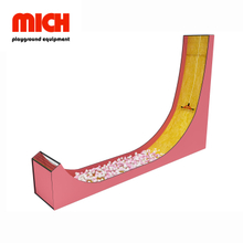 Indoor Drop Slide Playground Facility per bambini