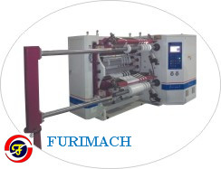 FR-2893A High Speed Label-stock Paper Slitting Rewinding Machine