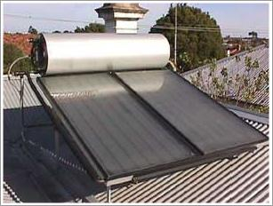 Pressurized Flat Plate Solar System