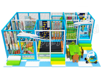 Mich Funny Indoor Amusement Playground 6606B