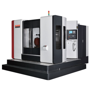 HMC630 CNC Horizontal Machine Center to Process Stainless Steel Workpiece