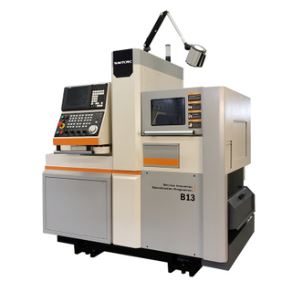 B13 5 Axis High Precision Cnc Swiss Type Lathe with Dual Spindle for Turning And Milling