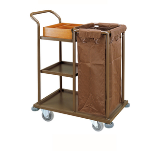 One Hop-Pocket Guestroom Service Trolley (FW-08B)