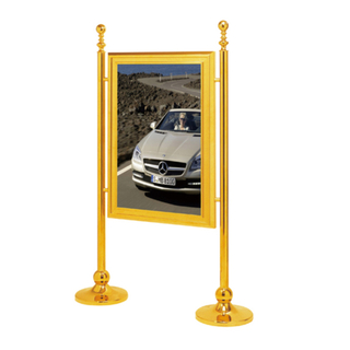 Upright Display Sign Stand for Public Place Notice (ZP-24)