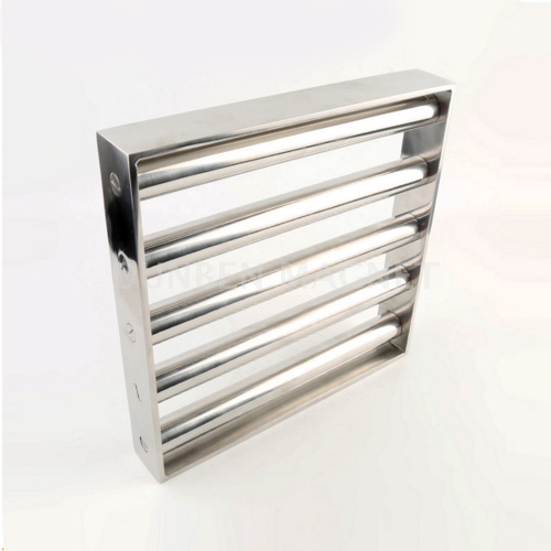 Square Grid Magnet, Square Grate Magnet, Square Easy Cleaning Magnetic Grid, Magnetic Grates, Square Magnetic Separator Grid, Grill Magnet