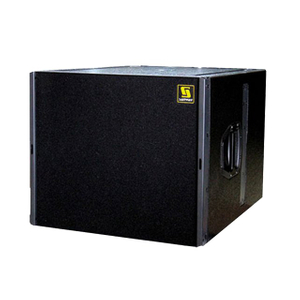 "Q-SUB Single 18 ""Desain Kotak Subwoofer Audio Pro PA"