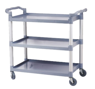 Plastic Three Layers Service Trolley for Hotel Restaurant (FW-64)