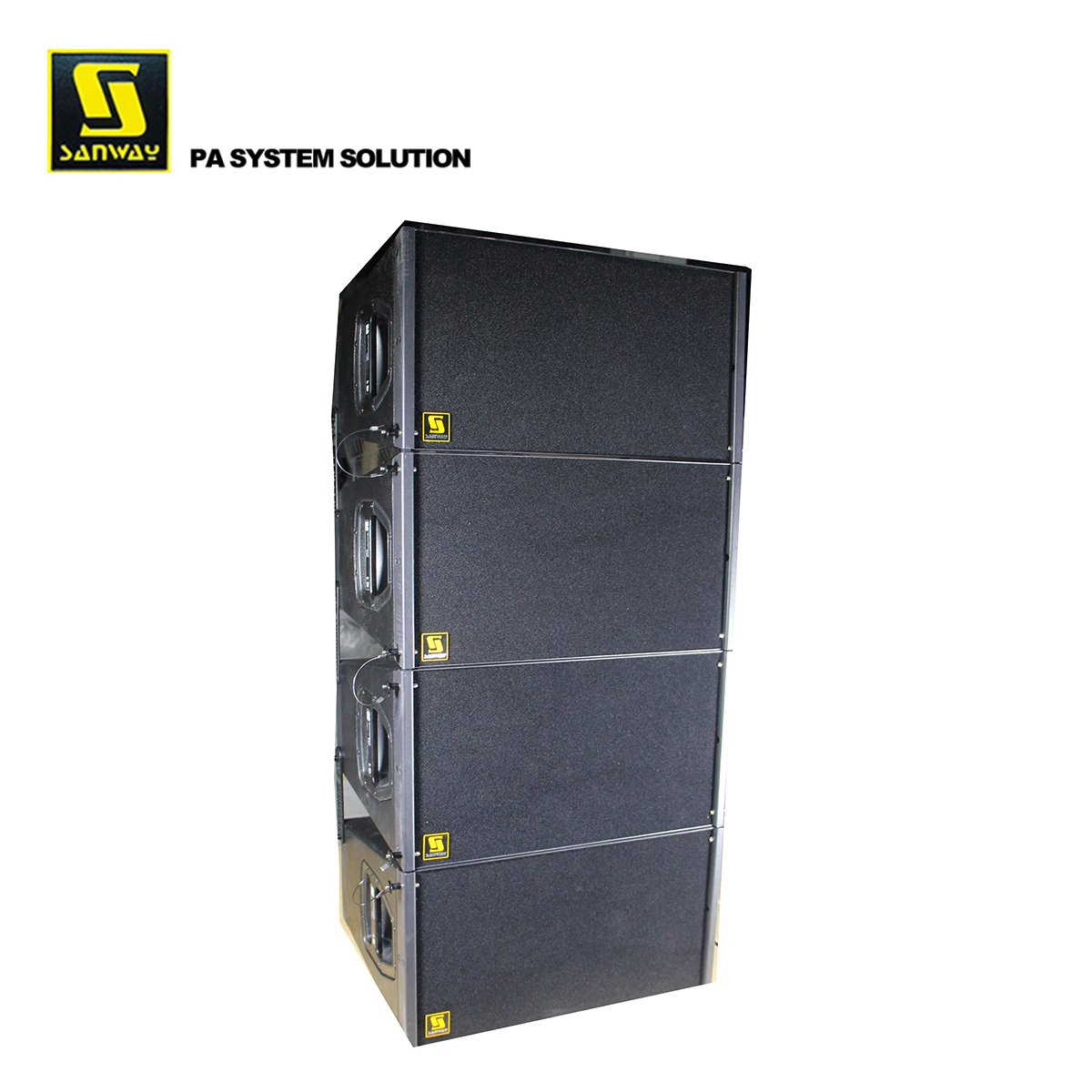 Sanway Audio Q1- und Q-SUB-Line-Array-Show