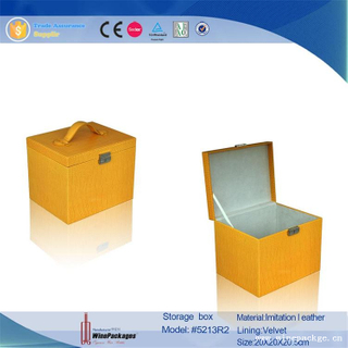 promotional gifts customized logo cardboard carrying box with handle