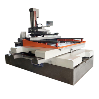 DK77100 Wire Cut Machines with Beautiful Shape And Novel Structure