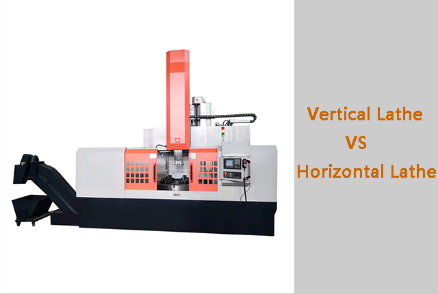 What is the difference between a vertical and horizontal lathe?