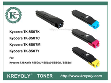 TK-8505/8506/8507/8509 COLOR TONER FOR Taskalfa 4550ci 5550ci 4551ci 5551ci