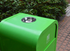 Outdoor Trash can for hot selling with metal material
