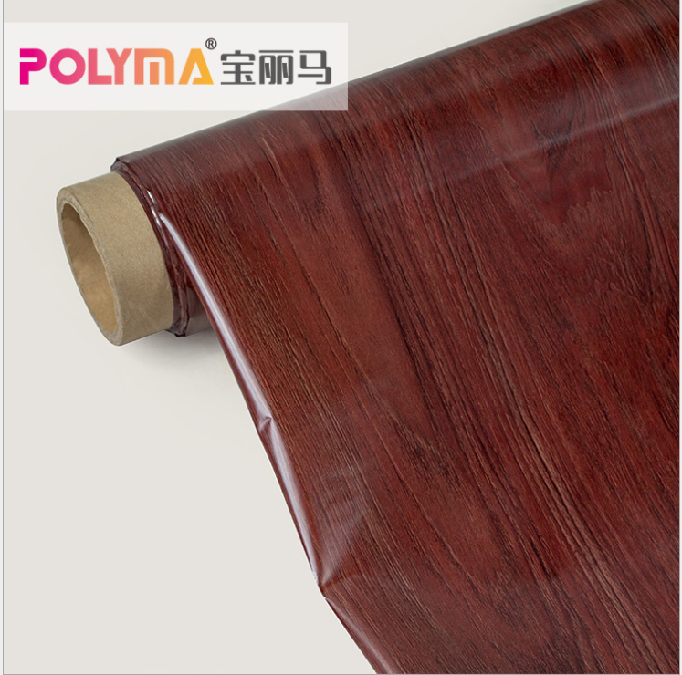 What is the process of Polyma PET thermal transfer film?