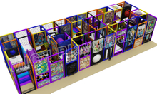 Kids Amusement Soft Indoor Playground 6605A