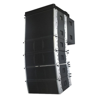 LA-208B Dual 15 inch Power Line Array Subwoofer Speaker