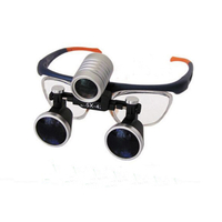 KD-202-1 Lupa de cabeza binocular de China con lámpara LED