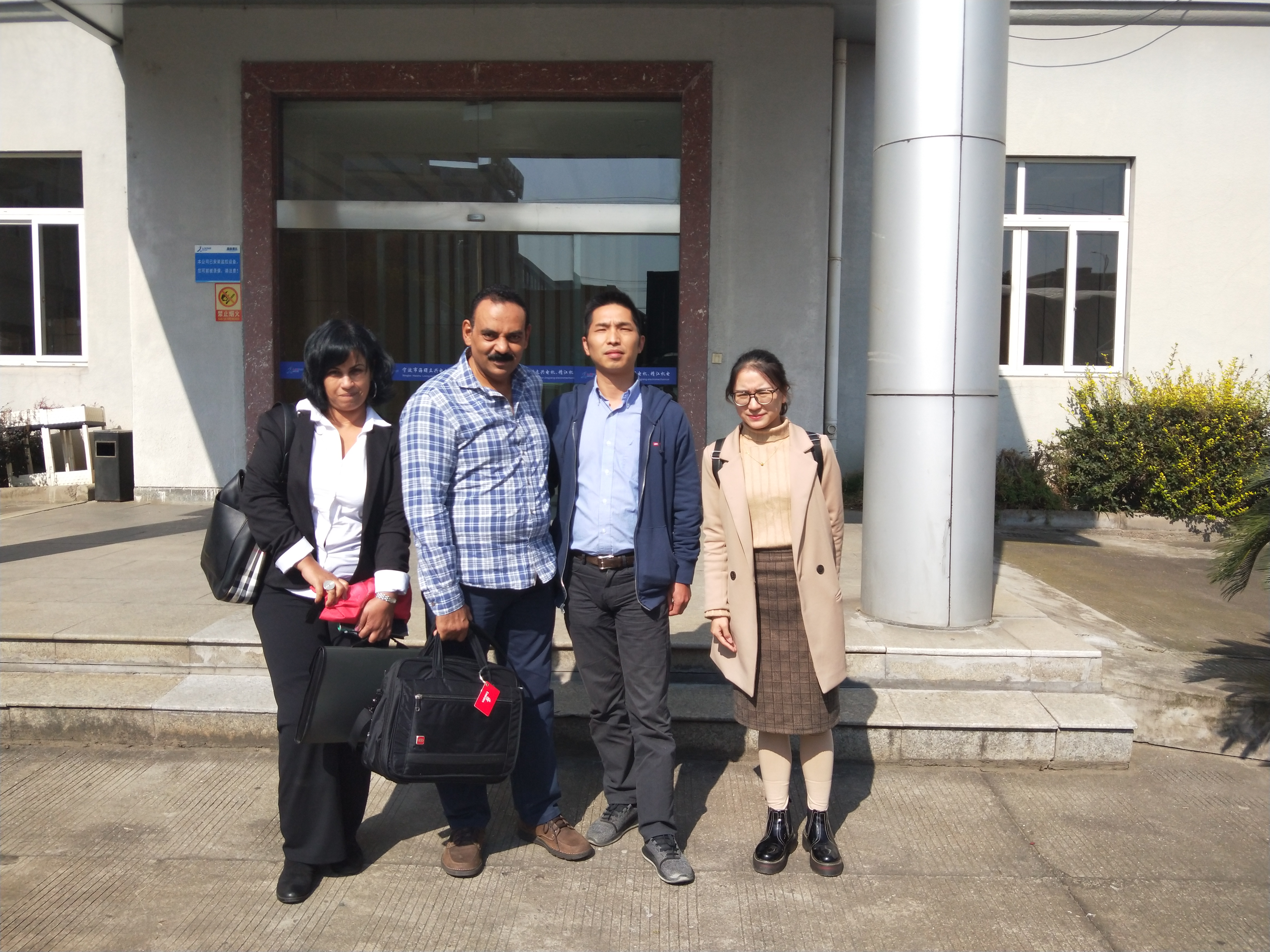 Our Egypt customers visit our factory